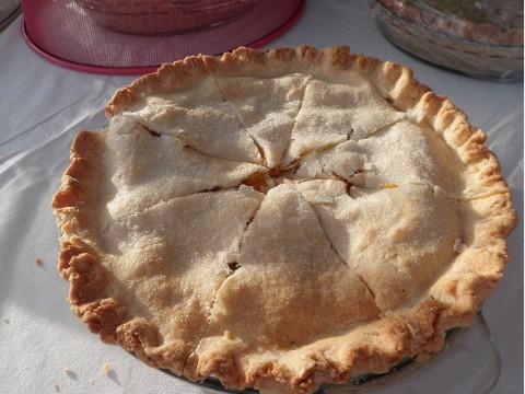 Mango Passionfruit Pie