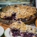 Blueberry Pina Colada Pie