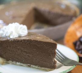 Belgian Chocolate Pie