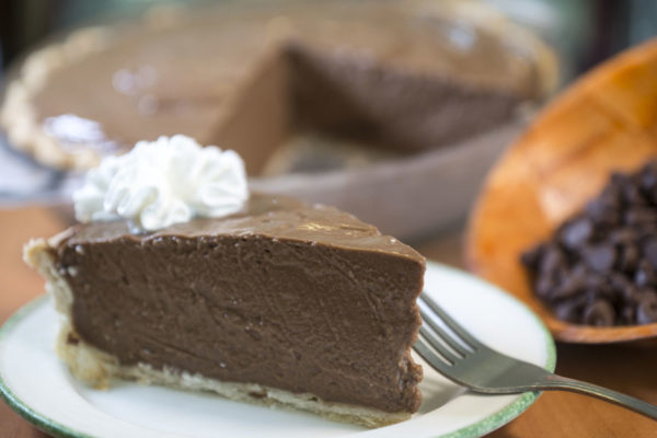 Belgian Chocolate Pie