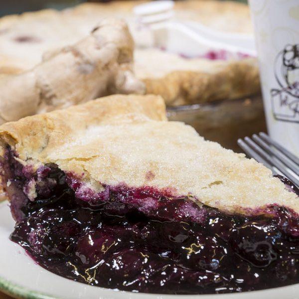 Blueberry Ginger Pie