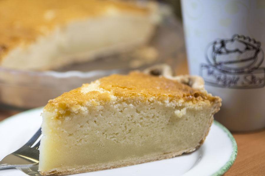 Butter Mochi Pie
