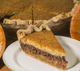 Chocolate Coconut Macaroon Pie