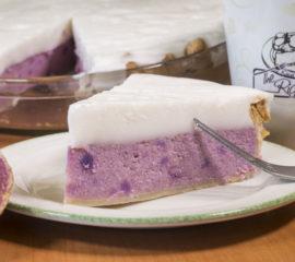 Haupia Purple Sweet Potato Pie