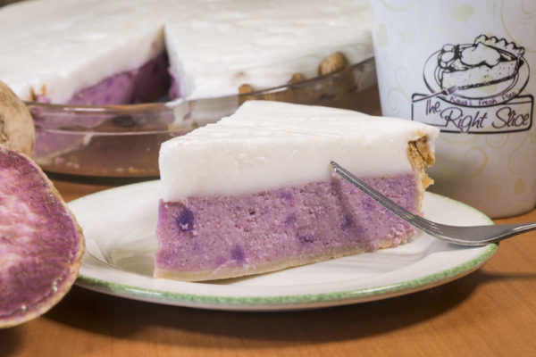 Haupia Purple Sweet Potato Pie