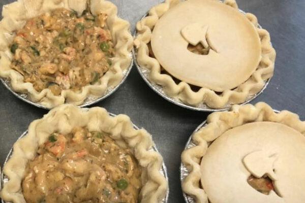 Seafood Pot Pies