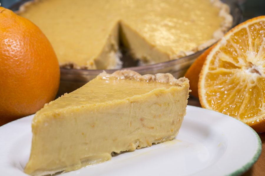 Tangelo Pie