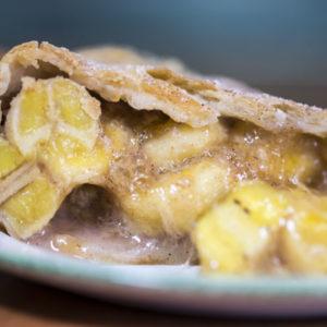 Tropical Banana Pie