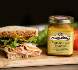 Aunty Lilikoi Passion Fruit Mustard