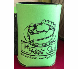 The Right Slice Can Coozie
