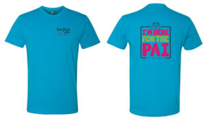 The Right Slice Unisex T-shirt - Turquoise