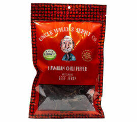 Uncle Willy's Hawaiian Chile Pepper Beef Jerky
